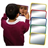 SCHOOL MIRRORS - Early Years Resource - 6 Acrylic Mirrors