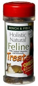 Bench & Field Holistic Natural Feline Cat Treats, 3oz Review