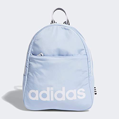 adidas Unisex Core Mini Backpack, Glow Blue/White/Black, ONE SIZE