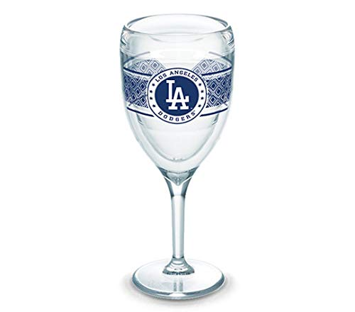 Tervis Los Angeles Dodgers 9 Ounce Wine (Plastic) Glass