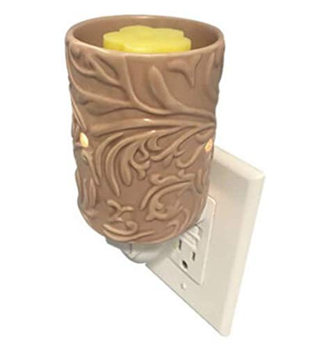 Plug in Home Fragrance Warmer for Wax Melts, Tarts & Oils (Taupe)