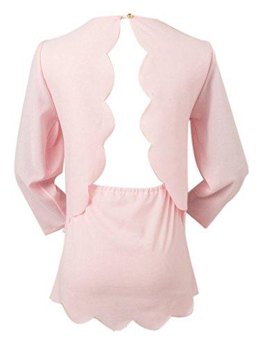 Persun-Women-Open-Back-Two-layer-Scallop-Trims-Blouse