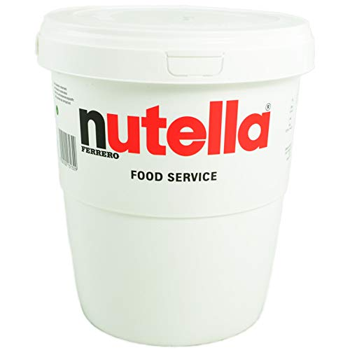 Ferrero Nutella Chocolate Hazelnut Spread  6.6 Lbs (3kg) Tub [The Original Authentic Import from Italy]