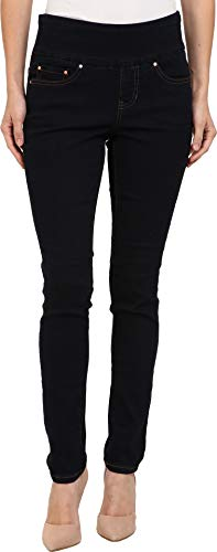 Jag Jeans Women's Petite Nora Skinny Pull on Jean, After Midnight, 10P