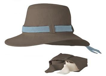 85c06c5b Tilley TH9 (Broad Brim) Hat - Mocha 7 1|8: Amazon.co.uk: Sports ...