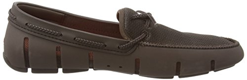 022 Uomo Braided Brown Mocassini Loafer Lace brn Swims Marrone 0gPxZwpqq