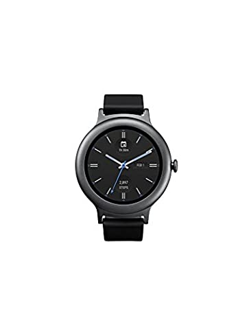 LG Electronics LGW270.AUSATN LG Watch Style Smartwatch with Android Wear 2.0 - Titanium - US (Lg Sport Watch)
