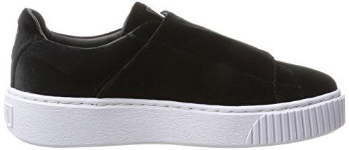 icelandicblue Schwarz Puma Black Strapvr Damen Sneaker black Basket Platform qBSBxvT
