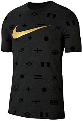 プレヒート AOP Tシャツ Tシャツ (CT6557) (010)ブラック S