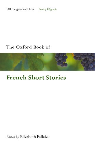 rench Short Stories (Oxford Books of Prose & Verse) ()