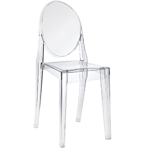 AmazoncomModway Casper Dining Side Chair ClearChairs