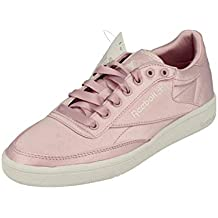 Reebok Classic Club C 85 Satin Womens Trainers Sneakers