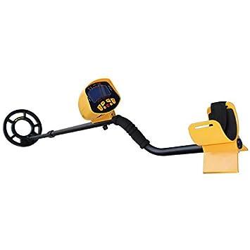 Finesgo Detector de Metales preciso, escáner Treasure de Alta sensibilidad para Actividades subterráneas Profundas con Pantalla LCD, para Adultos y ...