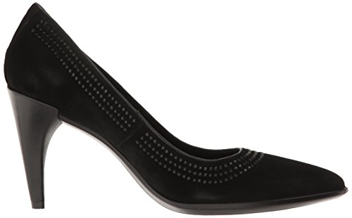 Shape Black Escarpins Pointy Femme Ecco Ballerina Noir qpPdn1