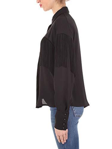 Mujer milazzo C16 Negro Camisa Ferrone Sandro qx6OwCFI