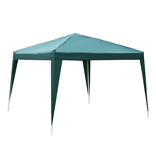 Safstar Canopy Tent Gazebo Pavilion Cater for Event Party Wedding Heavy Duty, Green, 10