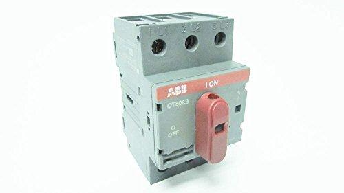 1- ABB OT63E3 80A AMP 600V-AC 3P NON-FUSIBLE DISCONNECT ()
