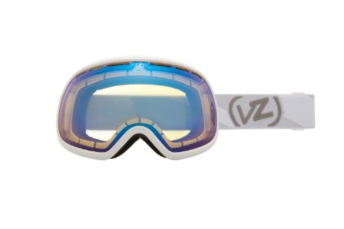 Von Zipper Fishbowl Goggle (White Gloss, Yellow - Zipper Von White Sunglasses