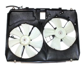 (TYC 620960 Toyota Sienna Replacement Radiator/Condenser Cooling Fan Assembly )
