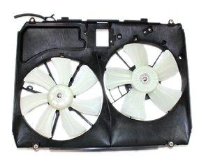 TYC 620960 Toyota Sienna Replacement Radiator/Condenser Cooling Fan Assembly (Radiator Fan Toyota Sienna)