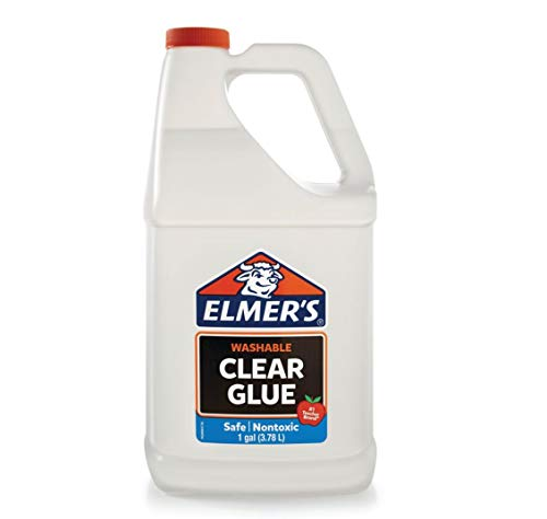 Elmer's Liquid School Glue, Clear, Washable, 1