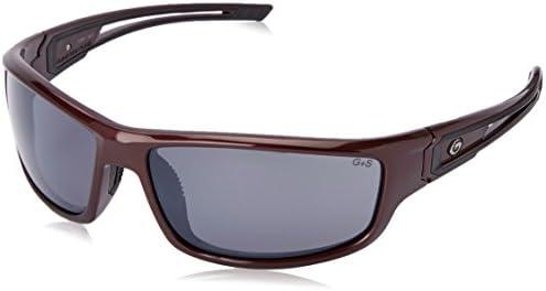 Gargoyles Men s Squall 10700111.QTM Polarized Wrap Sunglasses