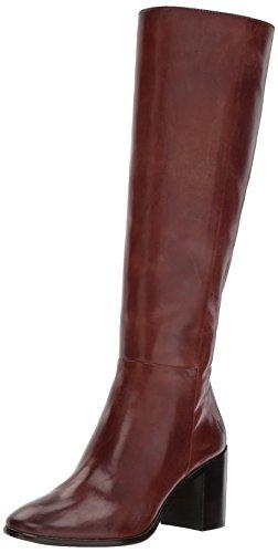 Frye Womens Julia Tall Inside Zip Slouch Boot Marrone Scuro