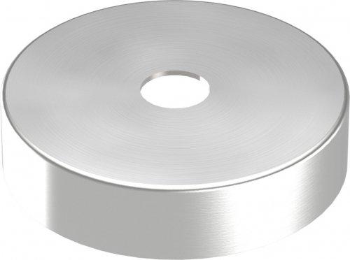 Abdeckrosette 62 x 15mm, Wandstärke 1mm, Bohrung ø 12,5mm edelstahlonline24