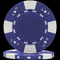 7 New Chips Ace King Suited 11.5gm Poker Chip Sample Set