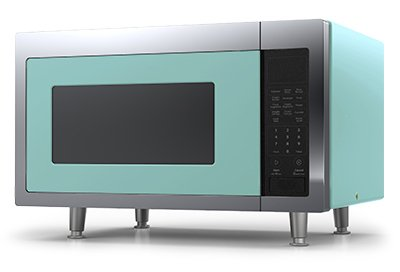 Big Chill Retro Microwave 1.6 cu. ft. 1200 watts Turquoise
