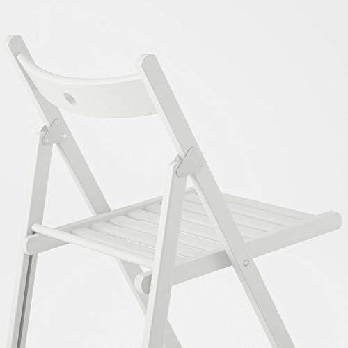 Ikea Terje Chaise pliante Blanc 44 x 51 x 77 cm