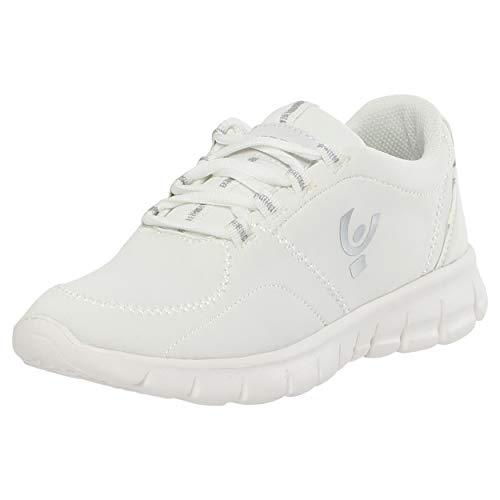Imbottito White Tallone Leggera Fitness Scarpa Con 4qI7BKH