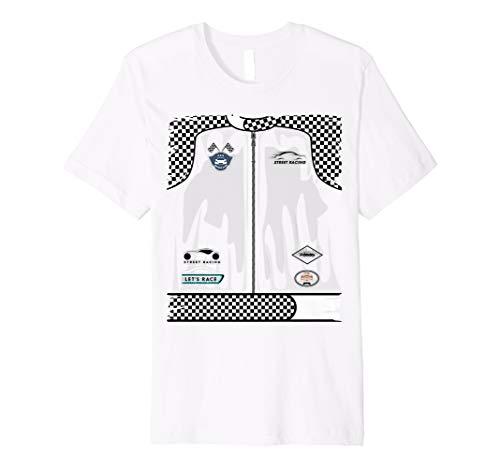 Cute Race Car Driver Halloween Costume Shirt Drag Racer Gift]()