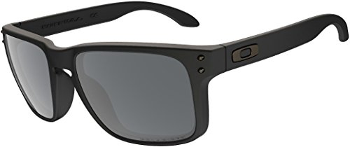 Oakley Holbrook Sunglasses (One Size, Matte Black Frame Polarized Black - Polarized Oakleys