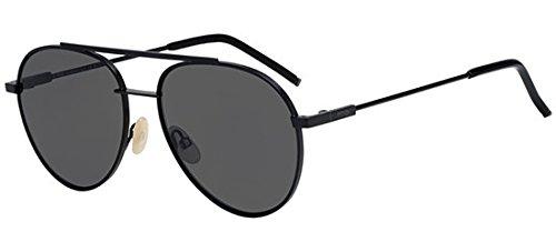 Sunglasses Fendi Men Ff 222/S 0807 Black/IR gray blue lens