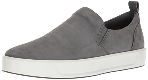 ECCO Men's Soft 8 Slip on Sneaker, Dark Shadow, 44 M EU (10-10.5 US)