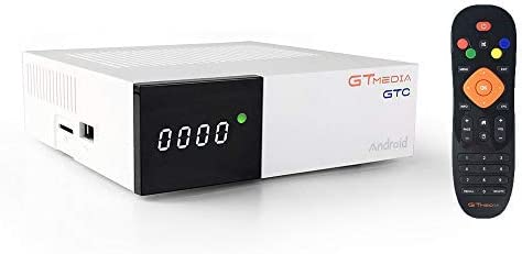 Docooler GTMEDIA GTC Android 6.0 TV Box DVB-S / S2 DVB-T / T2 / Cable/ISDBT TV Set-Top Box 4K Media Player Amlogic S905D 2GB / 16GB 2.4G WiFi BT4.0 Receptor de TV: