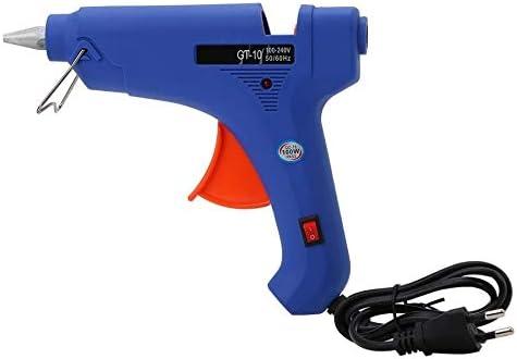 Professional 100-240V Hot Glue Gun 100W Constant Temperature Hot Melt Glue Gun Craft Repair Tool With Switch EU Plug - (Plug Type: EU)