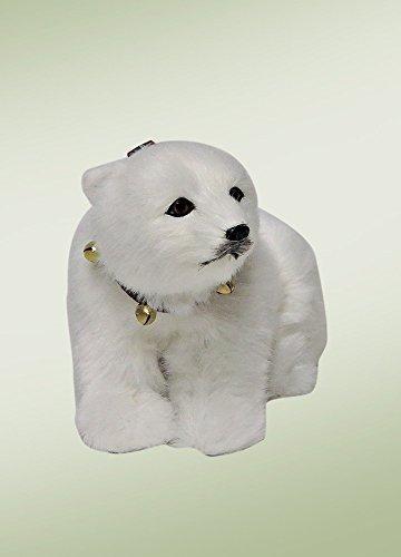(Byers' Choice Seated Polar Bear Cub #6692)