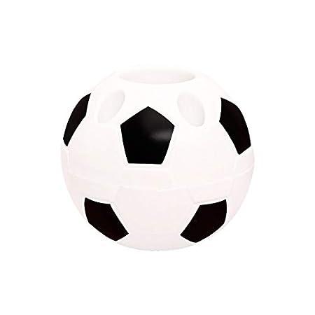 Cdet - Cubo de plástico para bolígrafos, diseño de balón de fútbol ...
