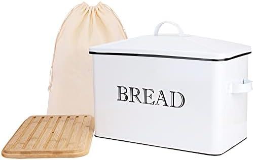 Top 10 Best farmhouse bread box Reviews
