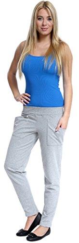 Italian Fashion IF Pantalones de Deporte para Mujer Rea Melange/Cristal