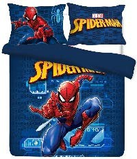 Comforter Set - Spiderman Spider-Tech Full (Spiderman Sheets For Queen Bed)