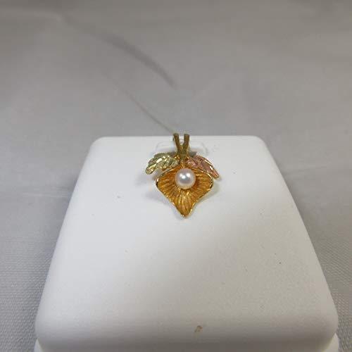 Black Hills Gold Pearl - 10k Black Hills Gold Pearl Pendant