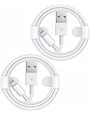iPhone Charger Cable 6ft 2 Pack, Apple MFi Certified iPhone Charger Lightning to USB Cable Apple Fast Charging Data Sync Cables Cord Connector Compatible for iPhone 12 11 Pro XS XR X 8 7 iPad AirPods