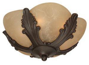Craftmade LKE305CFL-AG 2 Light Elegance Bowl Fan Light ()