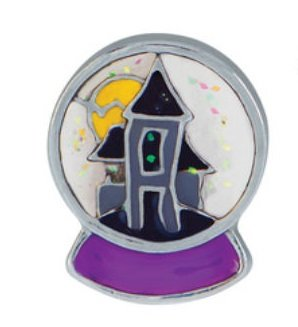 Origami Owl ~ HAUNTED HOUSE SNOWGLOBE CHARM - HALLOWEEN 2015 - LIMITED EDITION -