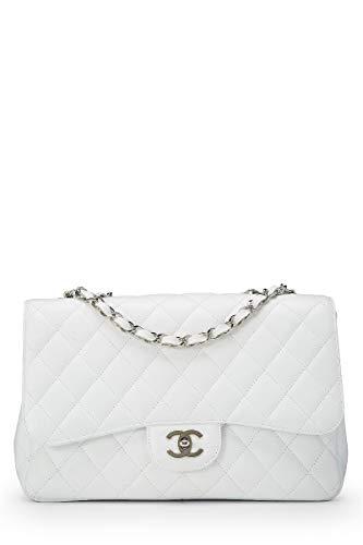 White Chanel Handbag - 4