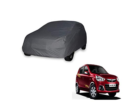 Auto Hub 2x2 Grey Matty Car Body Cover Compatible with Maruti Suzuki Alto K10  Model : 2012 Till Date