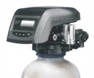 "Metered water softener with 3/4"" Autotrol 255/762 Logix control, 48,000 grain capacity with by-pass valve"